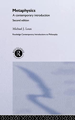 9780415261067: Metaphysics: Contemporary Readings