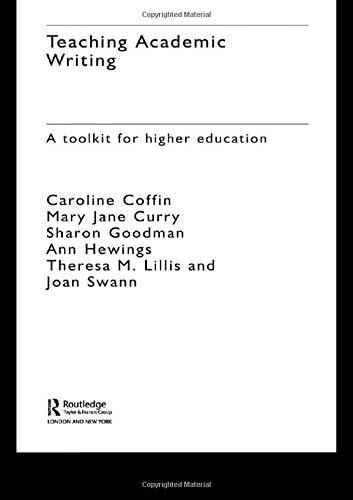9780415261357: Teaching Academic Writing: A Toolkit for Higher Education
