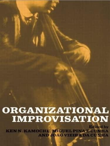 9780415261753: Organizational Improvisation