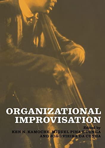 9780415261760: Organizational Improvisation