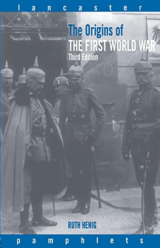 9780415261852: The Origins of the First World War (Lancaster Pamphlets)