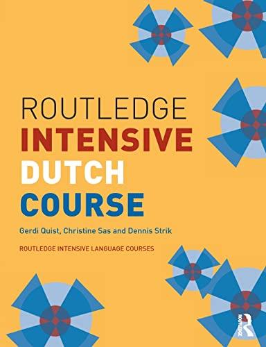 9780415261913: Routledge Intensive Dutch Course (Routledge Intensive Language Courses)