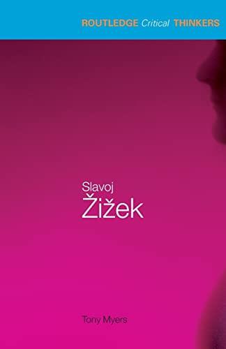 9780415262651: Slavoj Zizek (Routledge Critical Thinkers)