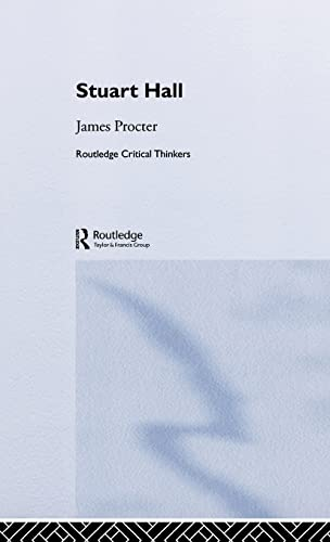 9780415262668: Stuart Hall (Routledge Critical Thinkers)