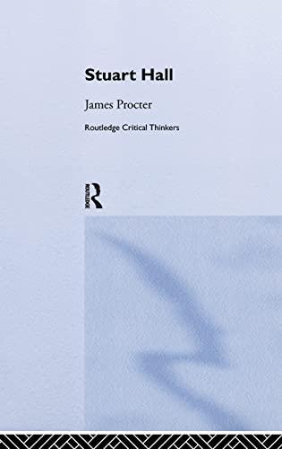 9780415262668: Stuart Hall (Routledge Critical Thinkers)