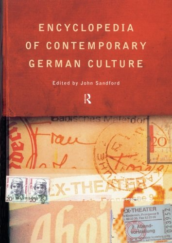 9780415263528: Encyclopedia of Contemporary German Culture (Encyclopedias of Contemporary Culture)