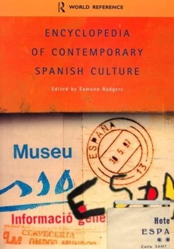 9780415263535: Encyclopedia of Contemporary Spanish Culture