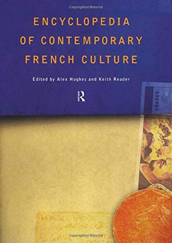 9780415263542: Encyclopedia of Contemporary French Culture (Encyclopedias of Contemporary Culture)