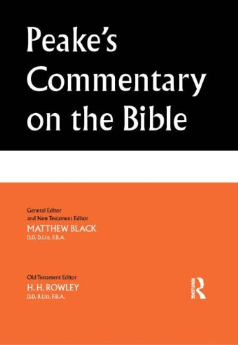 9780415263559: Peake's Commentary on the Bible