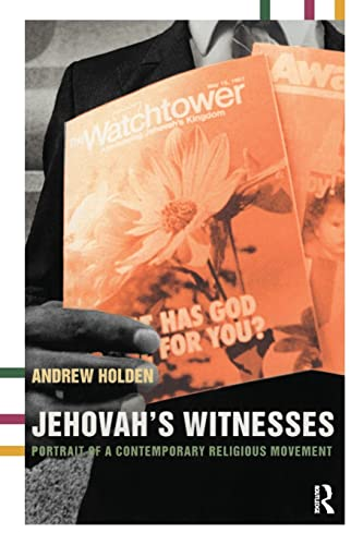 9780415266109: Jehovah's Witnesses: Portrait of a Contemporary Religious Movement