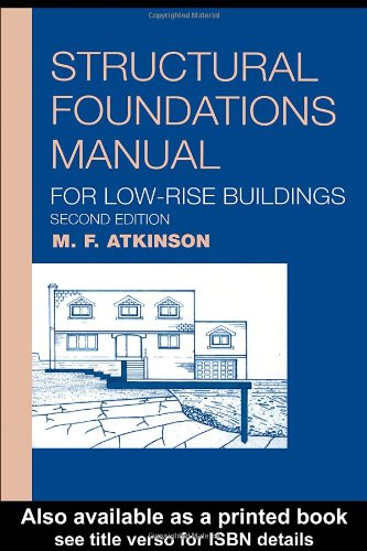 9780415266437: Structural Foundations Manual for Low-Rise Buildings