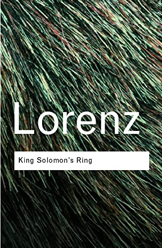 King Solomon's Ring: New Light on Animal: Konrad Lorenz