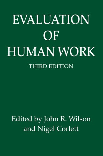9780415267571: Evaluation of Human Work, 3rd Edition