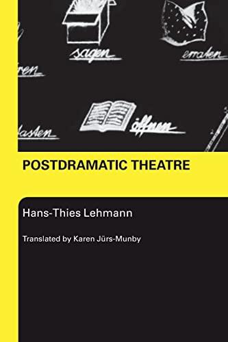 9780415268134: Postdramatic Theatre