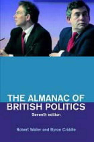 9780415268349: The Almanac of British Politics: 7th Edition