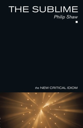 9780415268486: The Sublime (The New Critical Idiom)