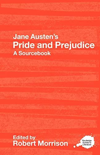 9780415268509: Jane Austen's Pride and Prejudice: A Sourcebook