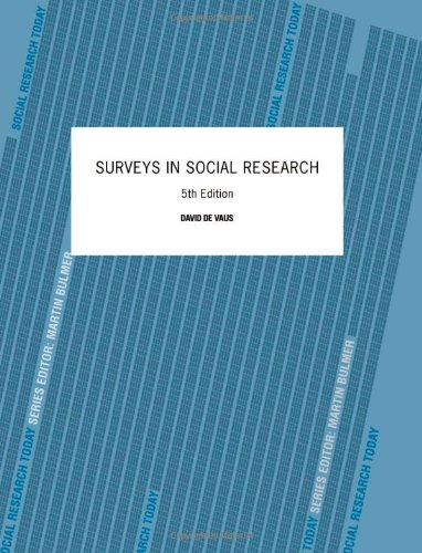 9780415268578: Surveys In Social Research (Social Research Today)