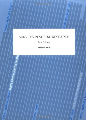 9780415268585: Surveys In Social Research (Social Research Today)