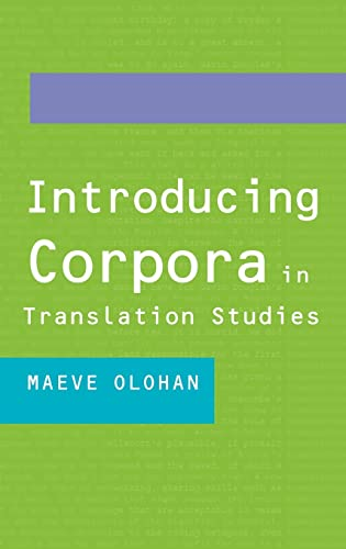 9780415268844: Introducing Corpora in Translation Studies: An Introduction