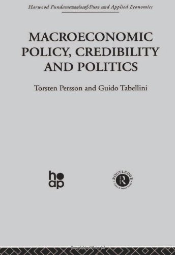 9780415269254: Macroeconomic Policy, Credibility and Politics (Fundamentals of Pure and Applied Economics) (Volume 1)