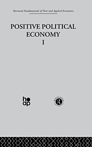 9780415269414: J: Positive Political Economy I (Harwood Fundamentals of Applied Economics)