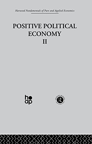 9780415269445: Harwood Fundamentals of Pure and Applied Economics: K: Positive Political Economy II