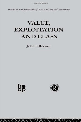 9780415269858: Value, Exploitation and Class (Fundamentals of Pure and Applied Economics) (Volume 3)