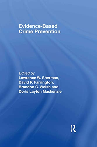 9780415270472: Evidence-Based Crime Prevention