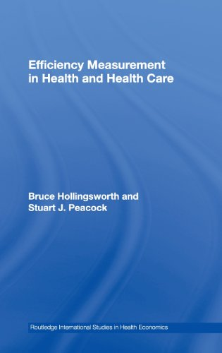 9780415271370: Efficiency Measurement in Health and Health Care (Routledge International Studies in Health Economics)