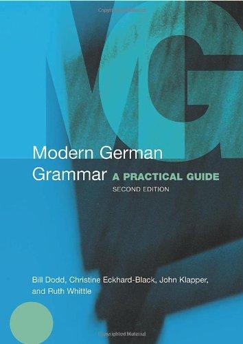9780415272995: Modern German Grammar: A Practical Guide (Modern Grammars)