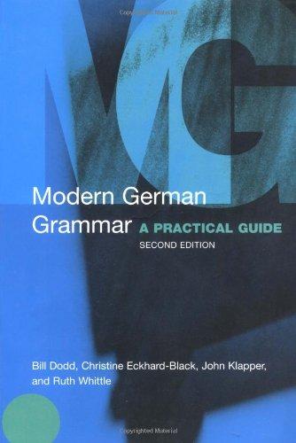 9780415273008: Modern German Grammar: A Practical Guide (Modern Grammars)
