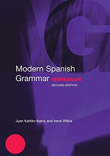 9780415273060: Modern Spanish Grammar Workbook (Modern Grammar Workbooks)