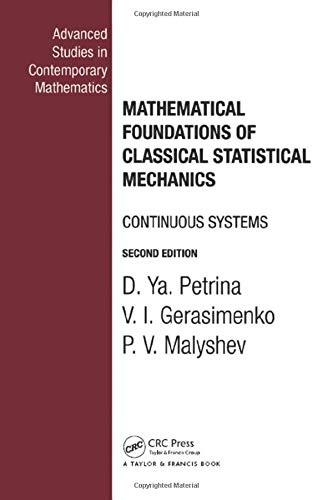 9780415273541: Mathematical Foundations of Classical Statistical Mechanics (Advanced Studies in Contemporary Mathematics)