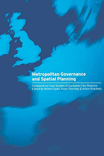 9780415274494: Metropolitan Governance and Spatial Planning: Comparative Case Studies of European City-Regions