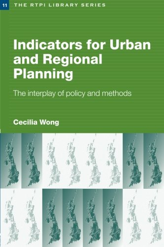 9780415274524: Indicators for Urban and Regional Planning: The Interplay of Policy and Methods (RTPI Library Series)