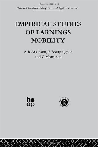 9780415274586: L: Income Distribution: Empirical Studies of Earnings Mobility (Fundamentals of Pure and Applied Economics) (Volume 1)