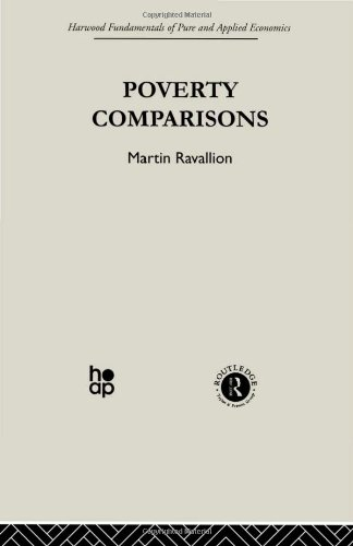 9780415274593: Poverty Comparisons: Volume 2 (Harwood Fundamentals of Pure & Applied Economics)
