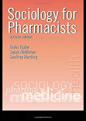 9780415274876: Sociology for Pharmacists: An Introduction