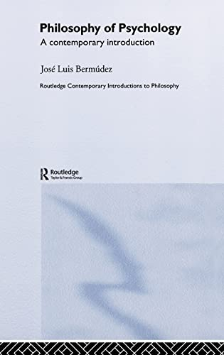 9780415275941: Philosophy of Psychology: A Contemporary Introduction (Routledge Contemporary Introductions to Philosophy)