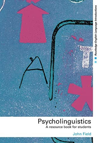 9780415276009: Psycholinguistics: A Resource Book for Students (Routledge English Language Introductions)