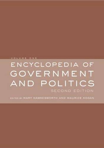 9780415276221: Encyclopedia of Government and Politics: 2-volume set