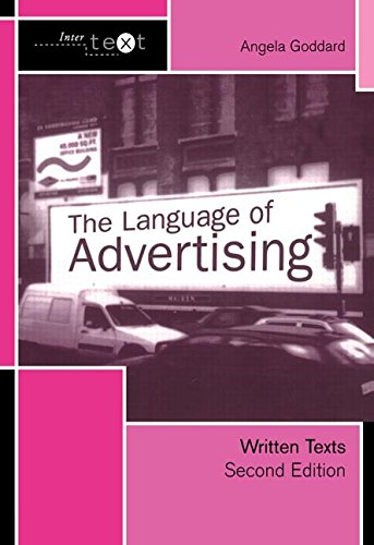 9780415278027: The Language of Advertising: Written Texts