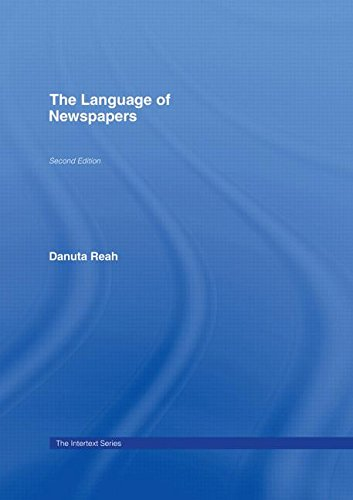 9780415278041: The Language of Newspapers (Intertext)