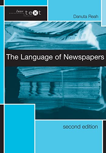 9780415278058: The Language of Newspapers (Intertext)