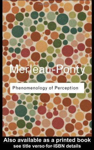 9780415278416: Phenomenology of Perception (Routledge Classics) (Volume 85)