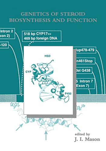 Genetics of Steroid Biosynthesis and Function (Modern Genetics)
