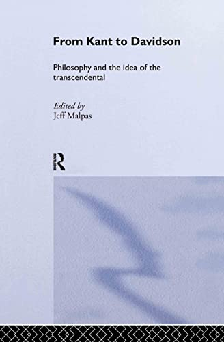 9780415279048: From Kant to Davidson: Philosophy and the Idea of the Transcendental (Routledge Studies in Twentieth Century Philosophy)