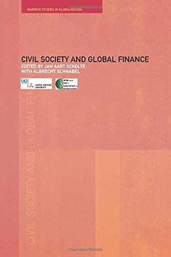 9780415279369: Civil Society and Global Finance (Routledge Studies in Globalisation)