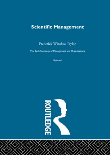 9780415279833: Scientific Management (Early Sociology of Management & Organizations) (Volume 8)